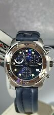 Sector 250 Chrono Sec Alarm Blue Dial Men's Watch Sapphire Crystal 100m Water...