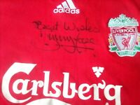 Liverpool Home Shirt 2006/8 Signed By Jimmy Case