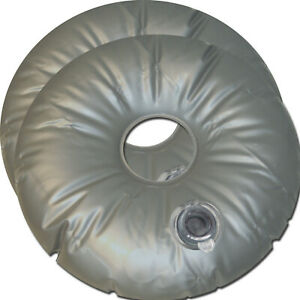 2 Schlauchgewicht 10 Liter Wasserring Sandring Wassersack Sandsack Sandgewicht