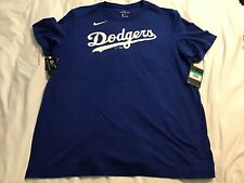 Brand New Los Angeles Dodgers NIKE Mens T-Shirt Size XL Blue