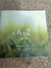 A-Z Essential Oil Guide Booklet - NEWEST 6th Ed - 200 ailments listed - 31 pgs