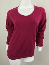 Fiorucci Magenta Large Shirt Blouse Sweater
