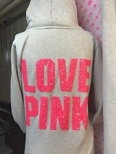 Victoria's Secret Pink *bling sequence* Hoodies & Sweats Set. SIZE SMALL.