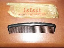 "Judaica Israel Old Vintage Celluloid Comb ""Select"" Unbreakable"