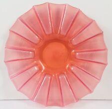 Beautiful antique Cranberry/opaline verre glace Plaque