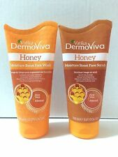 Dabur Vatika 150ml Honey Face Scrub + Wash Facial Healthy Clean Skin Mask
