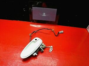 94-01 ACURA INTEGRA FRONT PASSENGER RIGHT EXTERIOR OUTER DOOR LOCK HANDLE WHITE