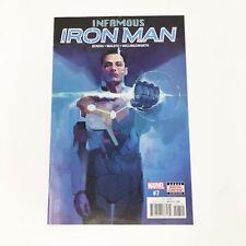 Infamous Iron Man Now #7 2017 Marvel Comics