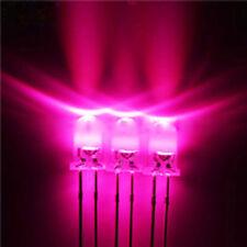 200pcs 0.3W 5mm 660nm LED 5000-6000MCD High Brightness for Plant Growth Light