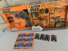 Lot 2 Action Man / Action Joe Packs Box Accessoires Armes Vêtements Hasbro 1996