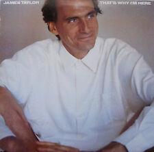 "JAMES TAYLOR ""THAT'S WHY I'M HERE""  FC 40052 W/LYRIC SLEEVE EX/Vinyl"