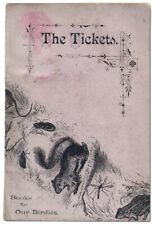 Cover Title The Tickets Books for Our Birdies bound with The Image Boys