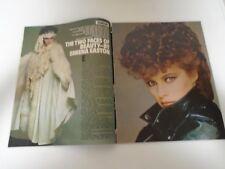SHEENA EASTON, GABRIELLA BRUM, PAMELA STEPHENSON - SUNDAY MAGAZINE - NOV 1981