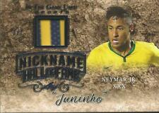 Neymar Leaf In the Game Used Prime Jersey 2/7 Brazil Paris Saint-Germain PSG