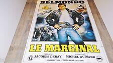 belmondo LE MARGINAL ! affiche cinema modele preventive