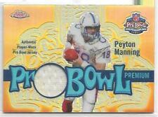New listing 2003 Topps Chrome Peyton Manning Pro-Bowl Jersey