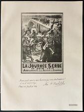 1926 - Lithographie citation de Pachitch
