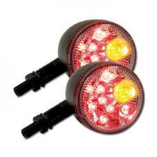 LED-Blinker Prisma mit Rücklichtkombination getönt M10 Universal Motorrad E-gepr