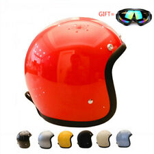 T&CO 3/4 Helmet Japan New Style T500TX Motorcycle Helmet with Googles Vintage