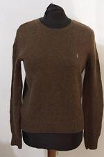RALPH LAUREN M maglia maglione maglioncino sweater jumper lana wool A280F