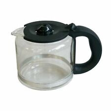 Krups MS-621696 KM1000 KM1010 Coffee Maker Glass Carafe & Lid Black Genuine