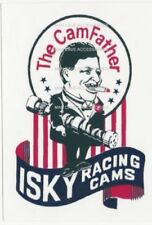 Nostalgic ISKY Racing Cams Vinyl Decal Sticker The Cam Father 4453