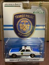 Greenlight Hobby Exclusive 1989 Chevrolet Caprice NYC Transit Police