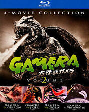 Gamera: 4-Movie, Vol. 2 (Blu-ray) DON'T BUY FROM AUTO 1 CENT UNDER ME NEW