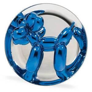 Jeff Koons 2002 Signed Blue Balloon Dog Numbered Ltd Ed Pristine + Box Stand