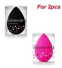 2PCS/set Original Beauty Blender Makeup Sponge Applicator Latex Free Pink/Black~