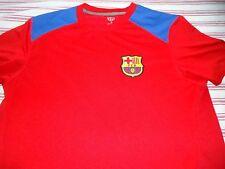 Men's XL Extra large  FCB Barcelona Soccer Red & Blue Jersey Shirt