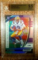 Joe Burrow 2020 Panini Prizm Draft Silver Prizm BGS 9.5 Gem Mint Rookie RC #105