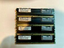 16GB (4x4GB) Elpida PC3-10600R 2Rx4 1.5v ECC Registered Server Memory DDR3