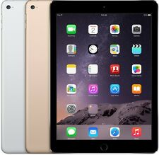 Apple iPad Air 2nd Generation Wifi OR Cellular Space Gray Gold Silver All Sizes
