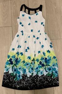 Girls Bonnie Jean Size 16   Floral Multicolor