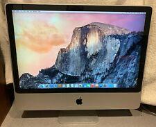 "Apple iMac Mid-2007 24"" 2GB RAM 500GB HDD 2.8GHz Dual Core Yosemite A1225"