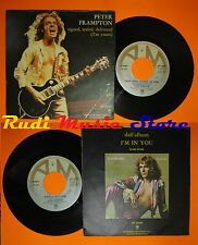 LP 45 7'' PETER FRAMPTON Signed sealed delivered Rocky 1977 italy A&M cd mc dvd