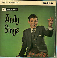Andy Stewart ‎– Andy Sings [JKP 3009] Used Vinyl, 7″ 45 RPM