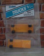 Boley, Double Flatbed Trailer 1/87 Yellow 2065-8