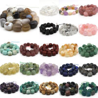 Fashion Natural Stone DIY Oval Freeform Loose Beads Strand Jewelry Making 15''