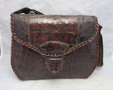 Vintage genuine alligator skin purse