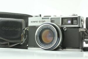 [Exc+4] Olympus 35 SP Film Camera Rangefinder 42mm f/1.7 Lens w/ Case from JAPAN