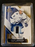 2015-16 UD SP Game Used - Tyler Johnson Patch Gold #/25 NM+ 2CLR