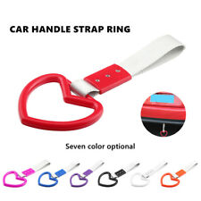 Heart-shaped Subway Train Bus Handle Strap Charm Drift PVC With Nylon For Car