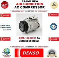 DENSO AIR CONDITION AC COMPRESSOR FEO: 12304511 for MERCEDES BENZ BRAND NEW UNIT