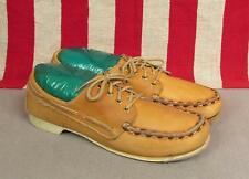 Vintage Dexter Womens Leather Bowling Shoes Loafer Type Docksiders Sz.10 Nice!