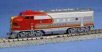 AT&SF Santa Fe Warbonnet F7A & F7B Kato 176-2121/176-2211 N Scale Set