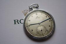 TELLUS CORTEBERT Rolex CAL.590 PAM Homage Swiss Made vintage pocket watch