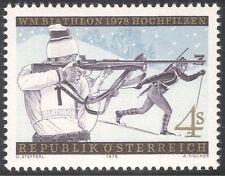 Austria 1978 Biathlon Championships/Sports/Rifle Shooting/Skiing 1v (n43053)