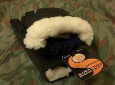 Genuine Soviet and Russian military winter gloves, Sheepskin Fur